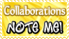 Collaborations NOTE ME - Stamp by Drache-Lehre