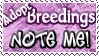 Adopt Breedings NOTE ME - Stamp by Drache-Lehre
