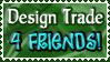 Design Trade 4 FRIENDS - Stamp by Drache-Lehre