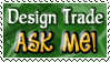 Design Trade ASK ME - Stamp by Drache-Lehre
