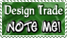 Design Trade NOTE ME - Stamp by Drache-Lehre