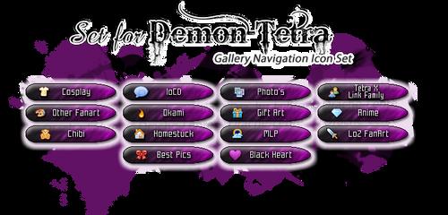 Gallery Navigate Icon Set - Demon-Tetra by Drache-Lehre