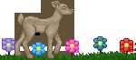 Deer w/ Flowers Divider - F2U! by Drache-Lehre