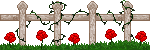 Fence w/ Roses Divider - F2U! by Drache-Lehre