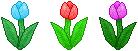 Tulip Trio Divider (#2) - F2U! by Drache-Lehre