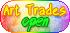 Pastel Rainbow - Art Trades Open - F2U! by Drache-Lehre