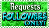 Art Status Stamp - Requests Followers Only! by Drache-Lehre