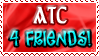Art Status Stamp - ATC For Friends! by Drache-Lehre