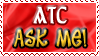 Art Status Stamp - ATC Ask Me! by Drache-Lehre