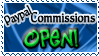Art Status Stamp - Paypal Commission Open! by Drache-Lehre