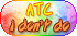 Pastel Rainbow - ATC I Don't Do by Drache-Lehre