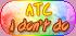 Pastel Rainbow - ATC I Don't Do by Drache-Lehre