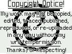 Simple Copyright Banner + Plz Buttons