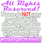 Simple All Rights Reserved! Banner by Drache-Lehre