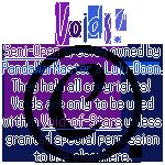 Banner - Voids Species Credits by Drache-Lehre