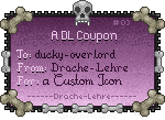 Coupon #03 - ducky-overlord by Drache-Lehre