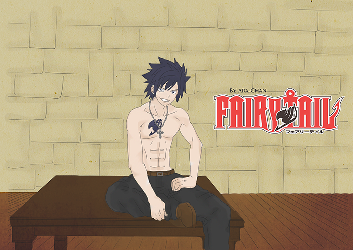 Gray Fullbuster Colored by FaroneStorm