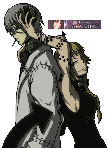 AOTW #6 [Entries] Stein_and_medusa_render_by_kazuko_146-d4f6lru