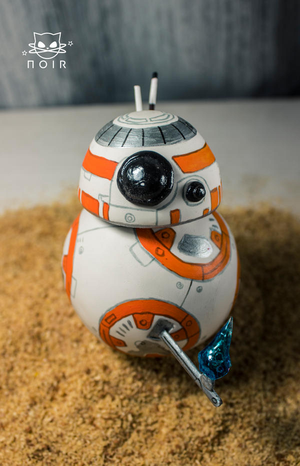 BB8 3D Model by NoirMafia