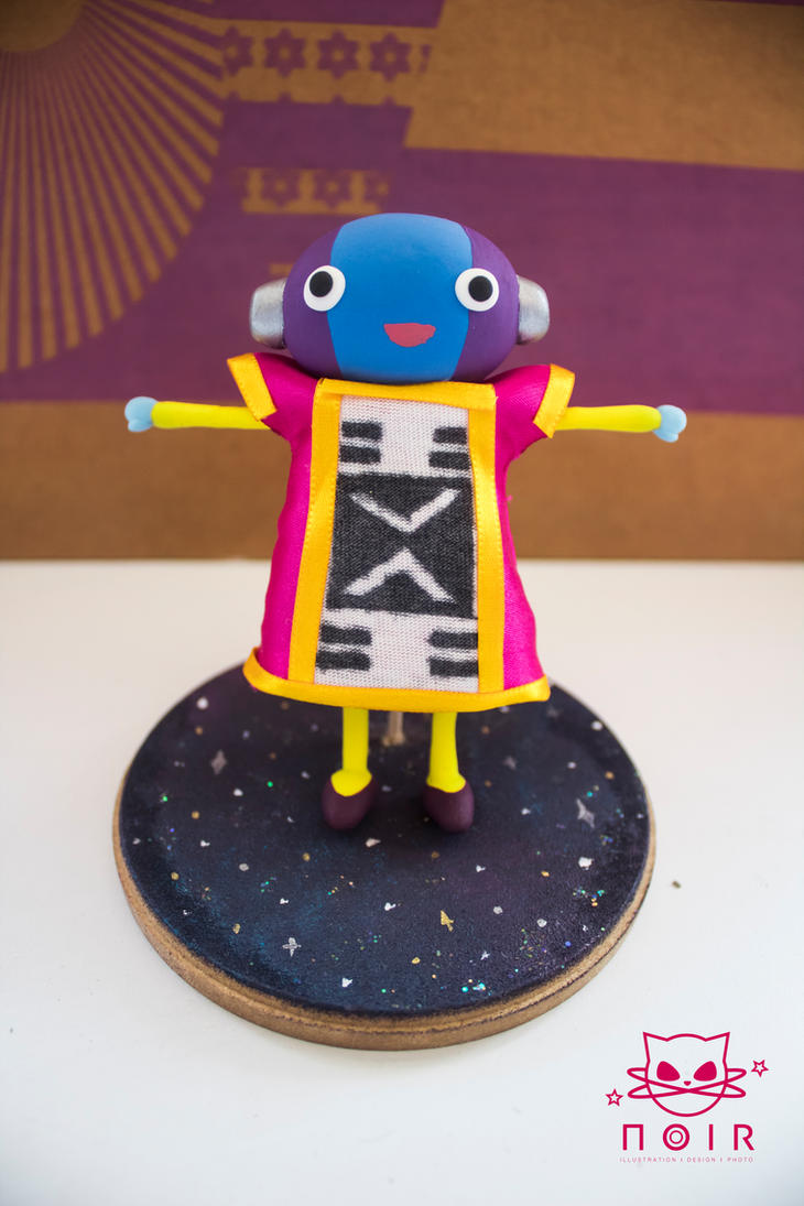 Zeno Sama Handmade Figure - Dragon Ball Super by NoirMafia