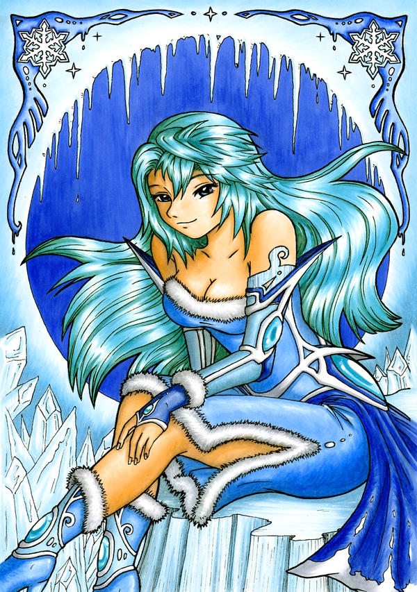 Ice princess by Footroya