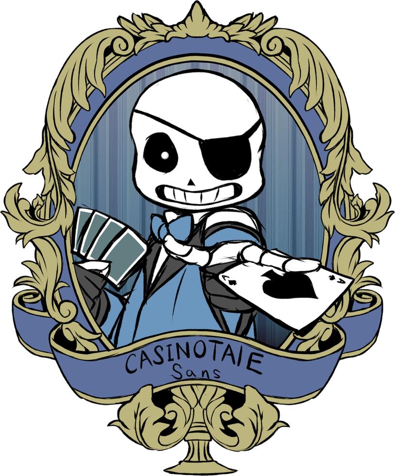casino tale sans x reader