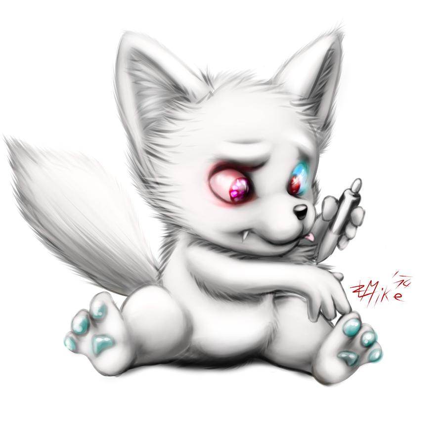 Random Pup doodle by ZLMike