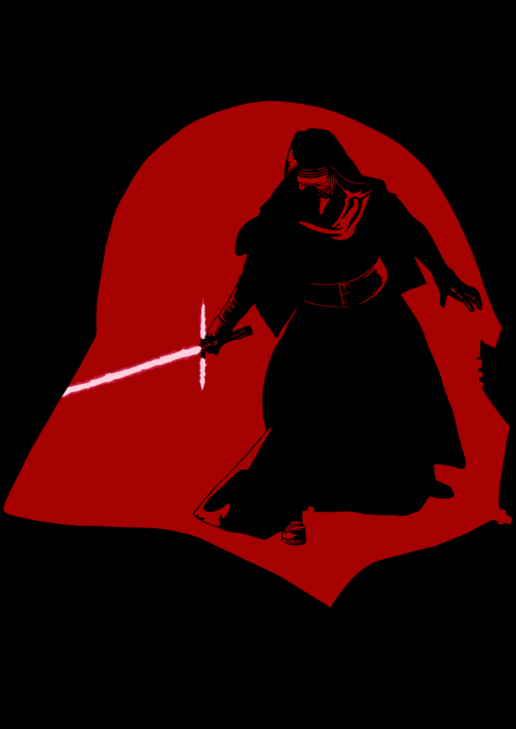 the dark side star wars the force awakens by edgecution