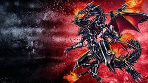 Red-Eyes Flare Metal Dragon wallpaper
