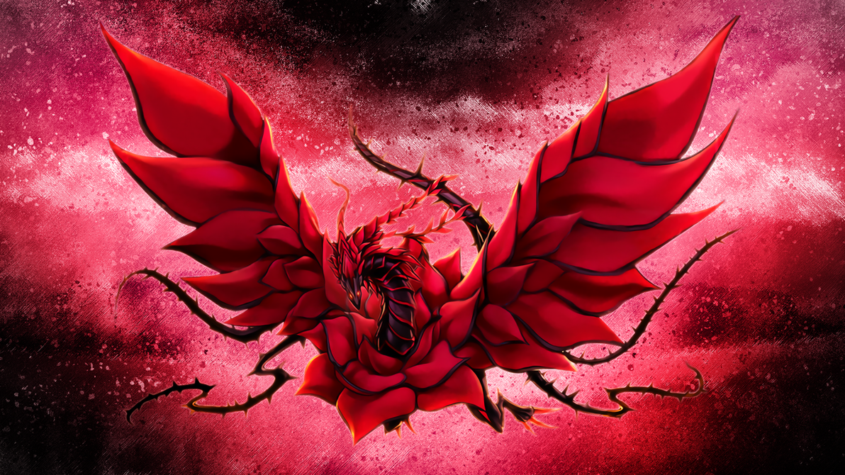 Black Rose Dragon wallpaper by EdgeCution on DeviantArt