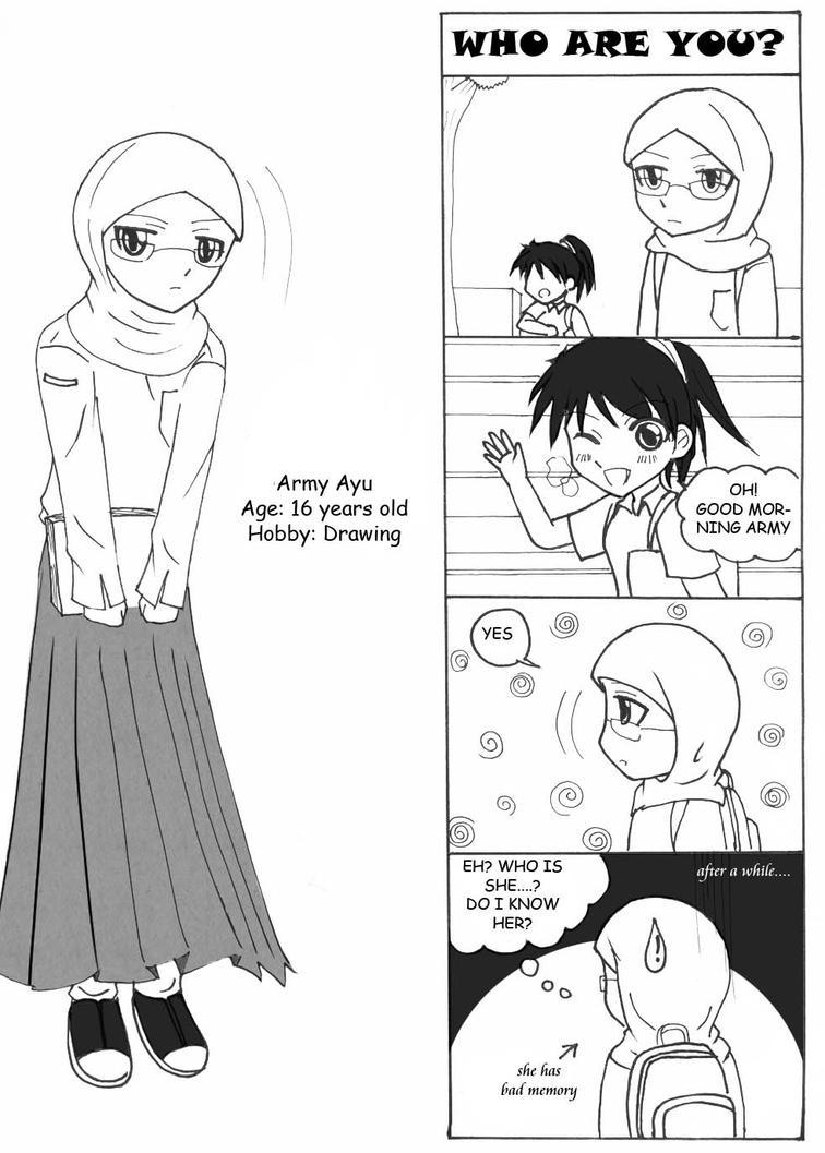 Komik Daily Life Page 1 Seidooreiki Deviantart Gambar Muslim