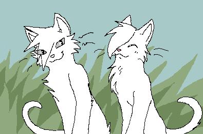 2 Cats Base by HellHoundAtNight