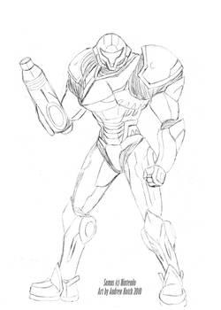 Metroid Future - Samus