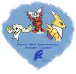 Digimon Tamers 15th Anniversary Sketch