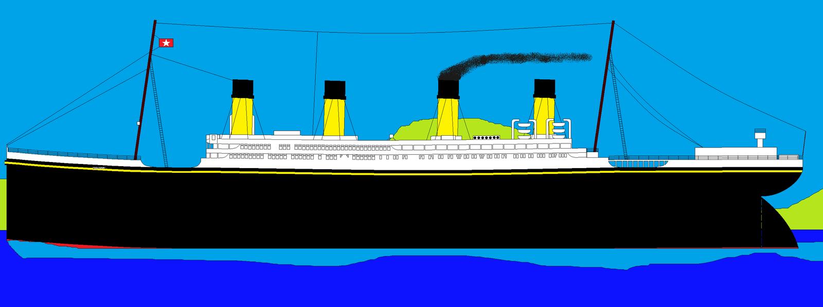 Titanic And Britannic Sinking Titanic Britannic Olympic
