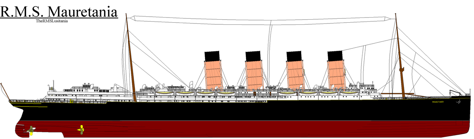 R M S Mauretania Eccl By Thequeenmary1 On Deviantart
