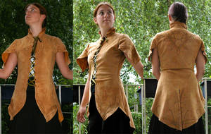 Wood-Elven tunic by Celefindel