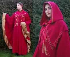 Elven winter coat by Celefindel