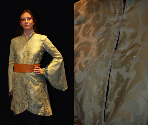 Ranwen's damask robe