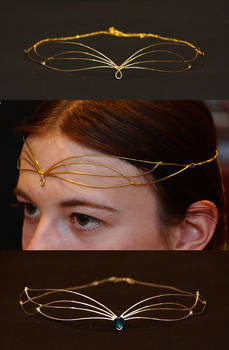 two small Galadriel diadems