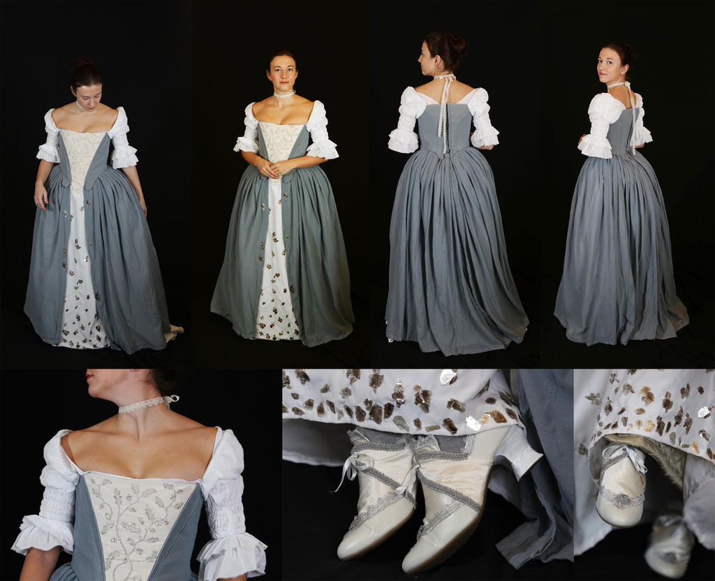 Outlander Wedding Dress By Celefindel On Deviantart