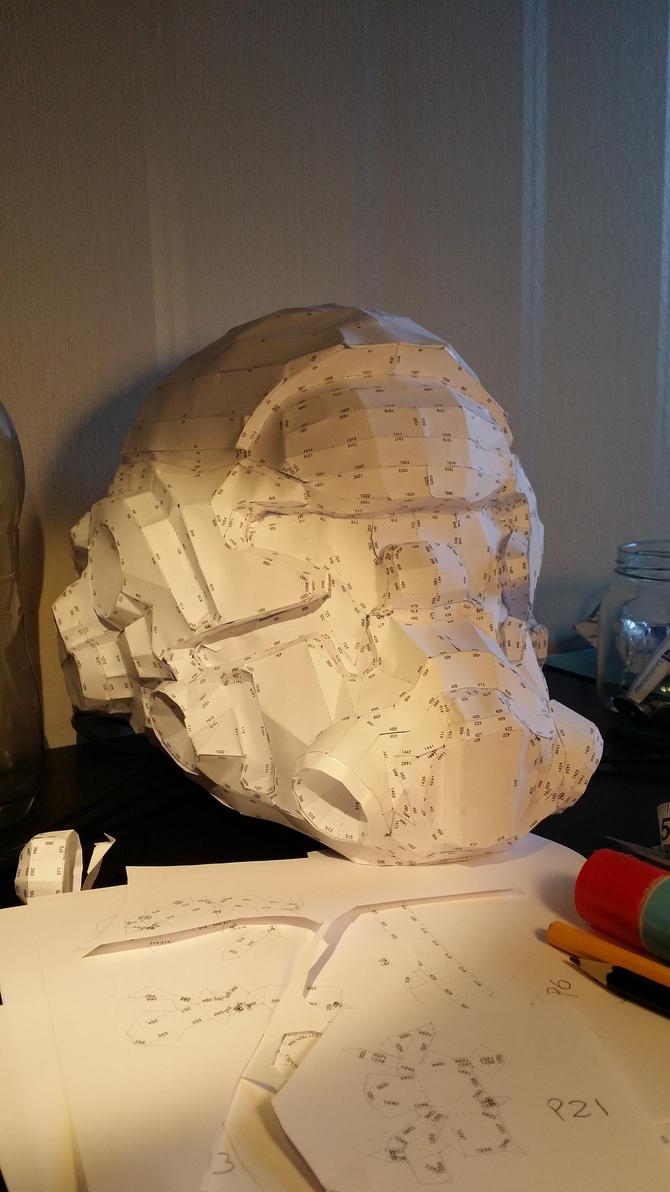 WIP - Militia Helmet by LudwigKun