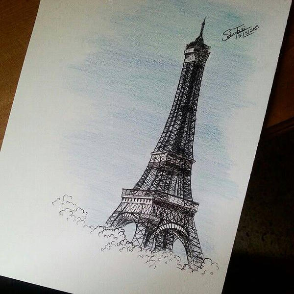 Eiffel tower  by SalmaZaki