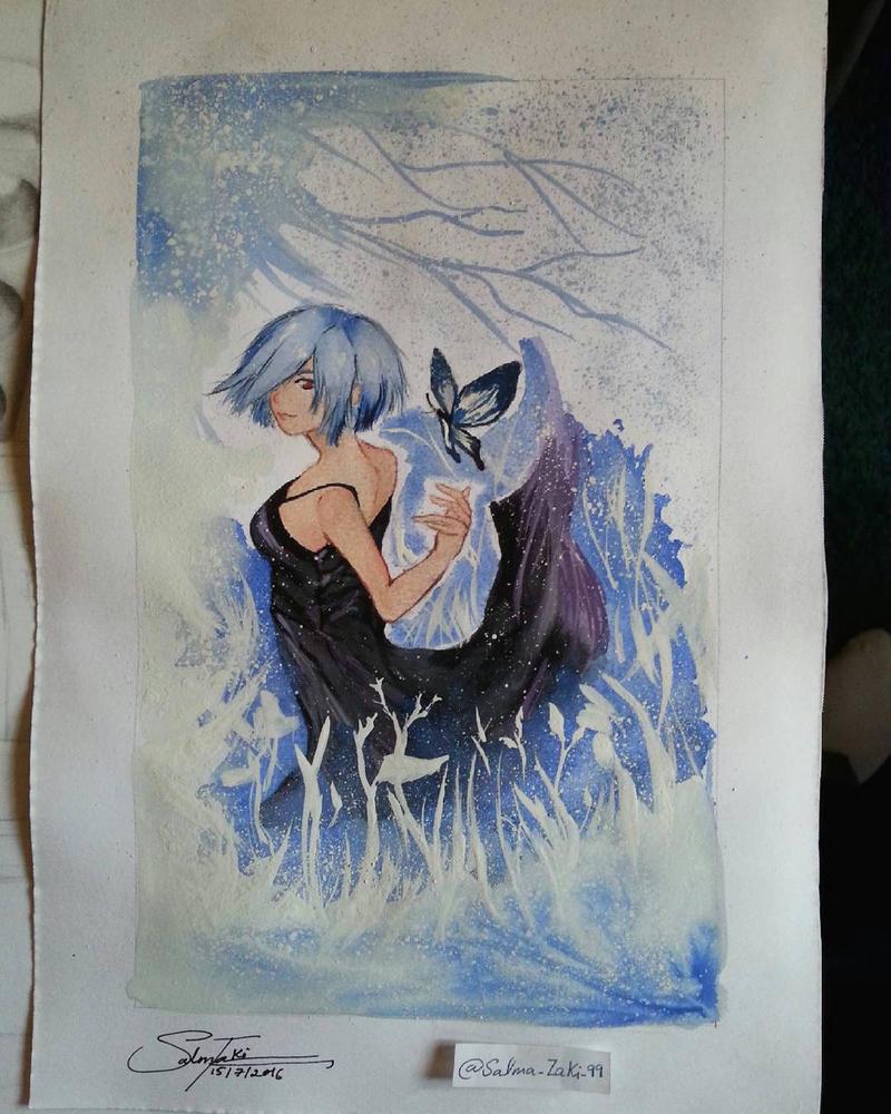 W painting by SalmaZaki