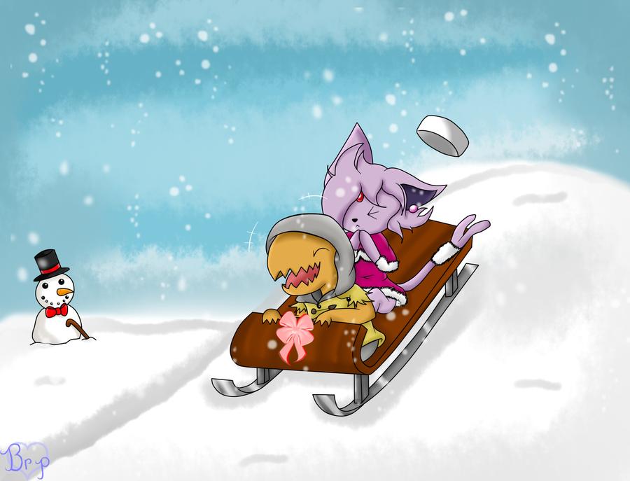 .:Pkmn-Crossing:. Secret Santa by Black-RosePetals