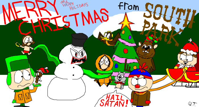 South Park Christmas.Christmas In South Park By Deeisbrowsing On Deviantart