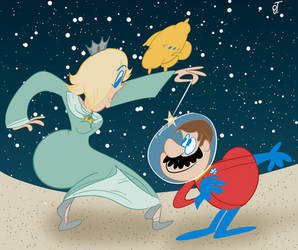 Rosalina's Astroknight by DeeIsBrowsing