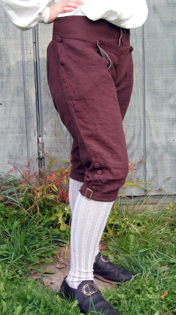 18th Century Breeches - Side by Goldenspring