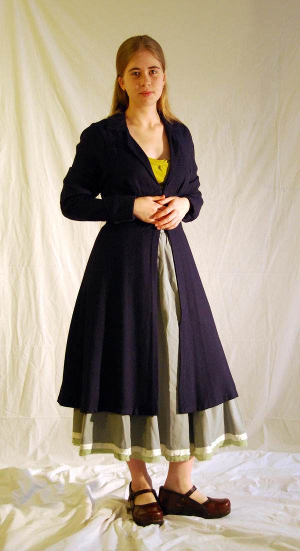 Dress Coat - new photo by Goldenspring