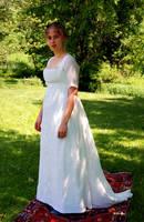 Regency Muslin Ball Gown I by Goldenspring